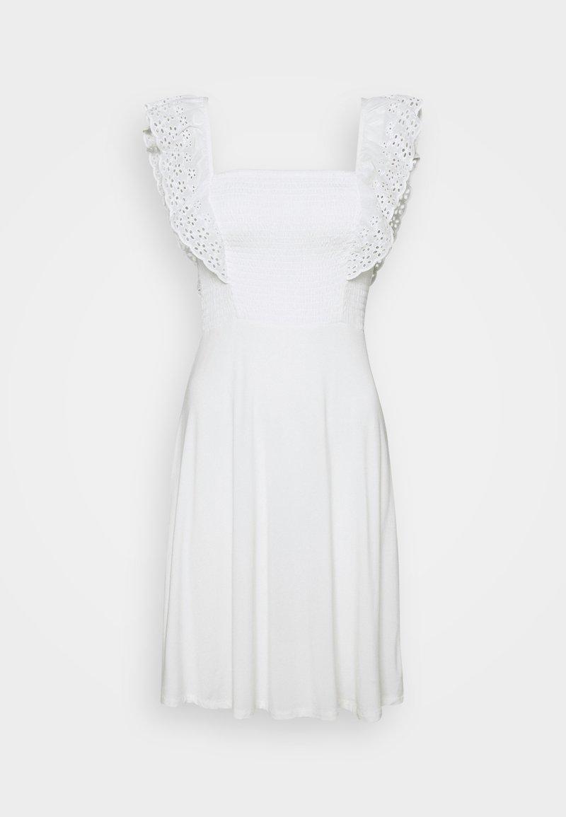 Vila - VIIRLA DRESS - Kjole - snow white