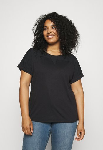 VMELLEN - T-shirts - black