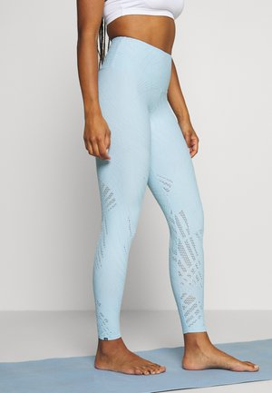 SELENITE MIDI - Leggings - powder blue