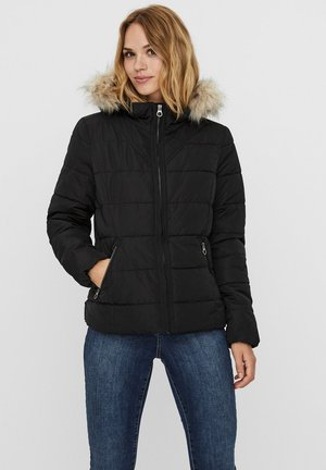 KURZE PUFFER - Light jacket - black