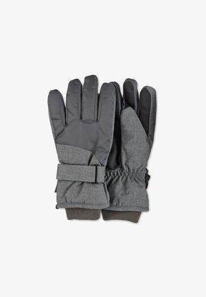 Gloves - silber melange