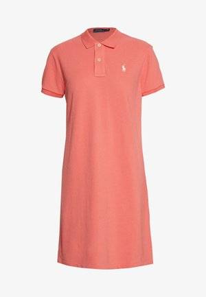 SHORT SLEEVE CASUAL DRESS - Day dress - amalfi red