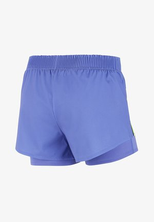 SLAM SHORT - Sports shorts - sapphire/hot lime
