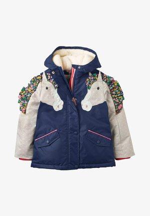 Winter jacket - schuluniform-navy, pferd