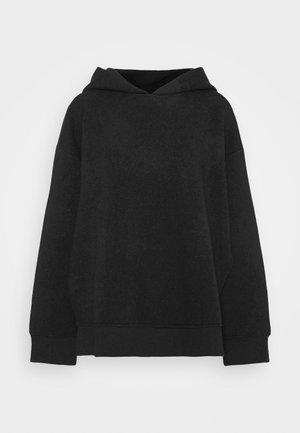 Mikina skapucí - black/grey