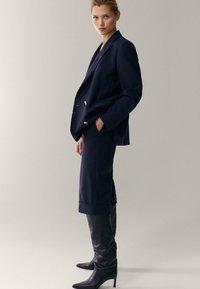 Massimo Dutti - Blazer - dark blue - 1
