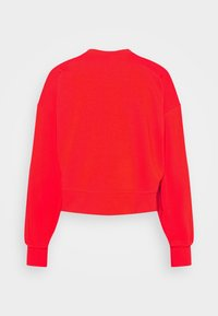Nike Performance - DRY GET FIT CREW - Sudadera - chile red/crimson bliss - 5