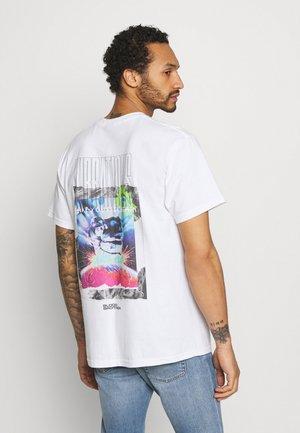 QUINCY TEE - T-shirt imprimé - white