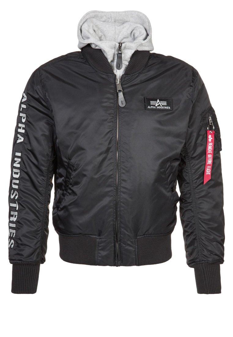 Alpha Industries - Light jacket - black/grey