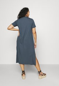 Simply Be - MIDI DRESS WITH SIDE SPLIT - Day dress - charcoal - 2