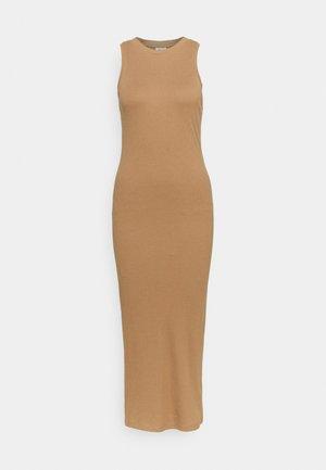 VMLAVENDER CALF DRESS  - Jersey dress - tigers eye