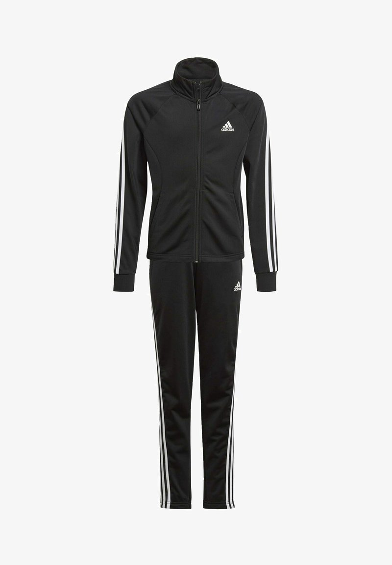 adidas Performance - 3-STRIPES TEAM PRIMEGREEN TRACKSUIT - Tracksuit - black