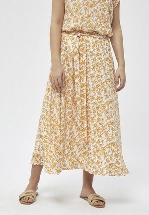 A-line skirt - old gold pr