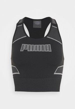 EVOSTRIPE EVOKNIT CROP - Camiseta de deporte - black