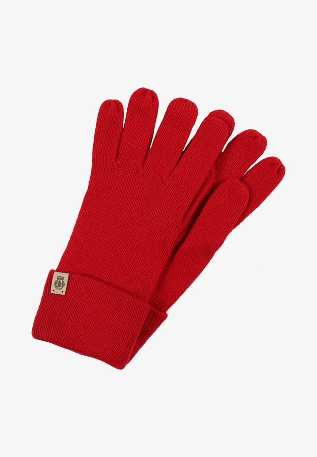 ESSENTIALS BASIC  - Gloves - classic red