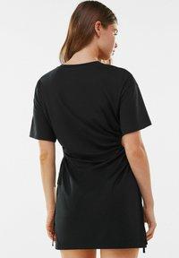 Bershka - Jerseykleid - black - 2