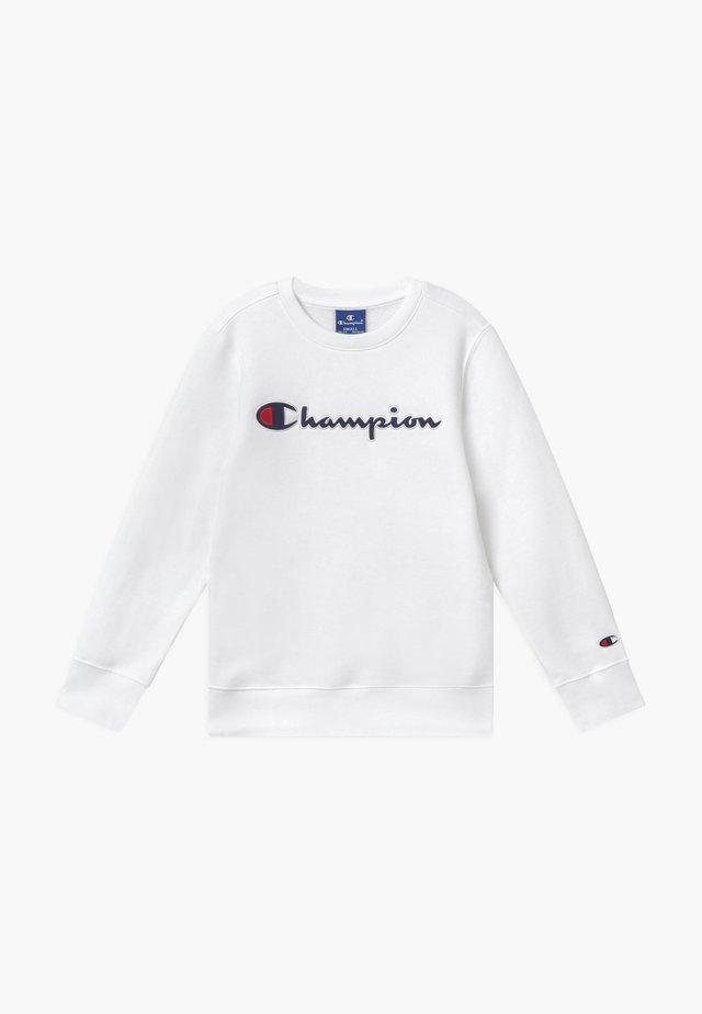 ROCHESTER CHAMPION LOGO CREWNECK - Felpa - white
