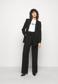 HUGO - HOVIANA - Pantalon classique - black - 1