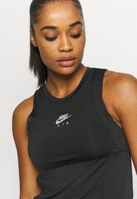 Nike Performance - AIR TANK - Camiseta de deporte - black/silver - 4