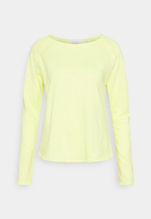 HEAVY LONGSLEEVE - Long sleeved top - lemonade