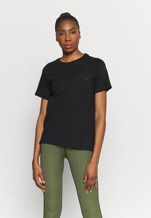 HMLZENIA  - T-shirt imprimé - black