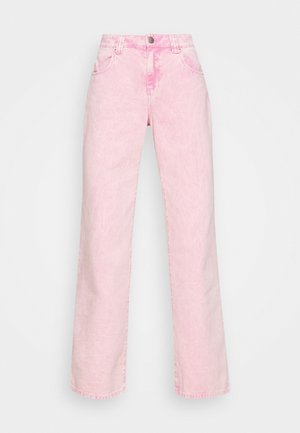 AALIA JEANS - Flared Jeans - washed denim
