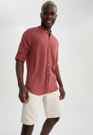 Zakelijk overhemd - bordeaux