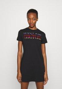 Versace Jeans Couture - DRESS - Jersey dress - black - 0