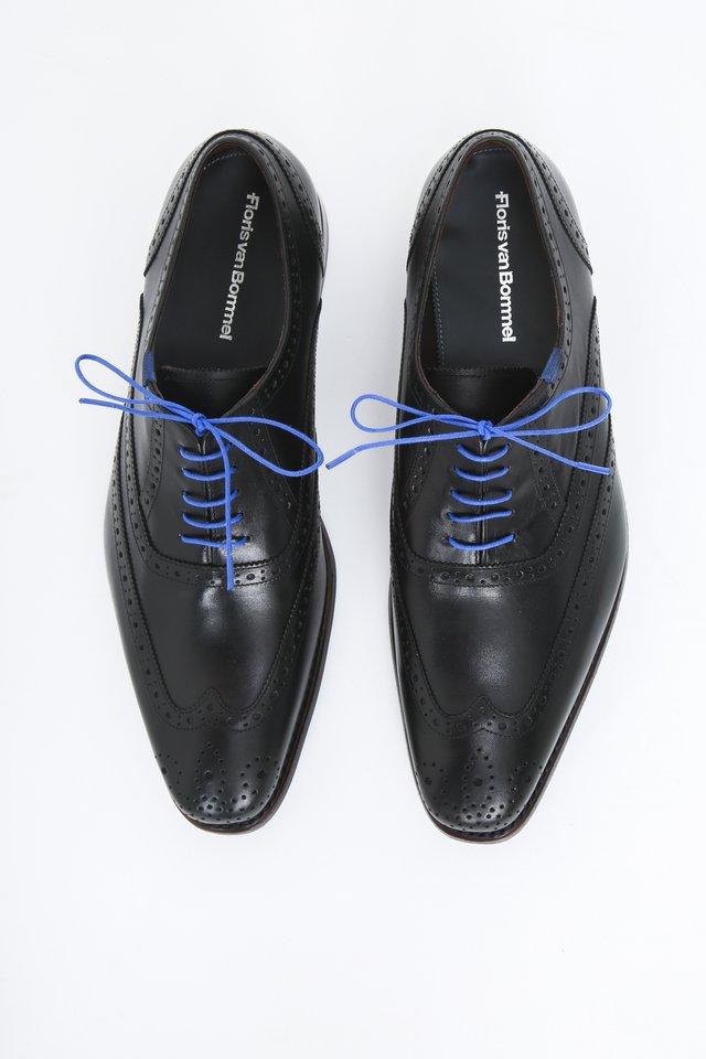 Smart lace-ups - black calf