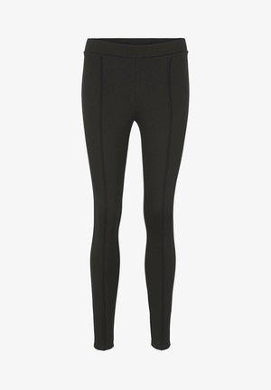 HIGH WAIST  - Leggings - Trousers - deep black