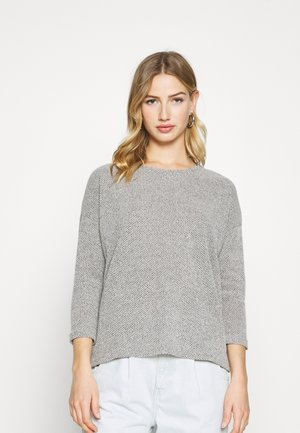 ONLALBA   - Strickpullover - light grey melange