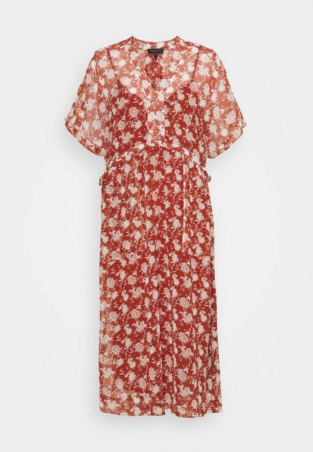 ELYSSE DRESS - Day dress - pecan
