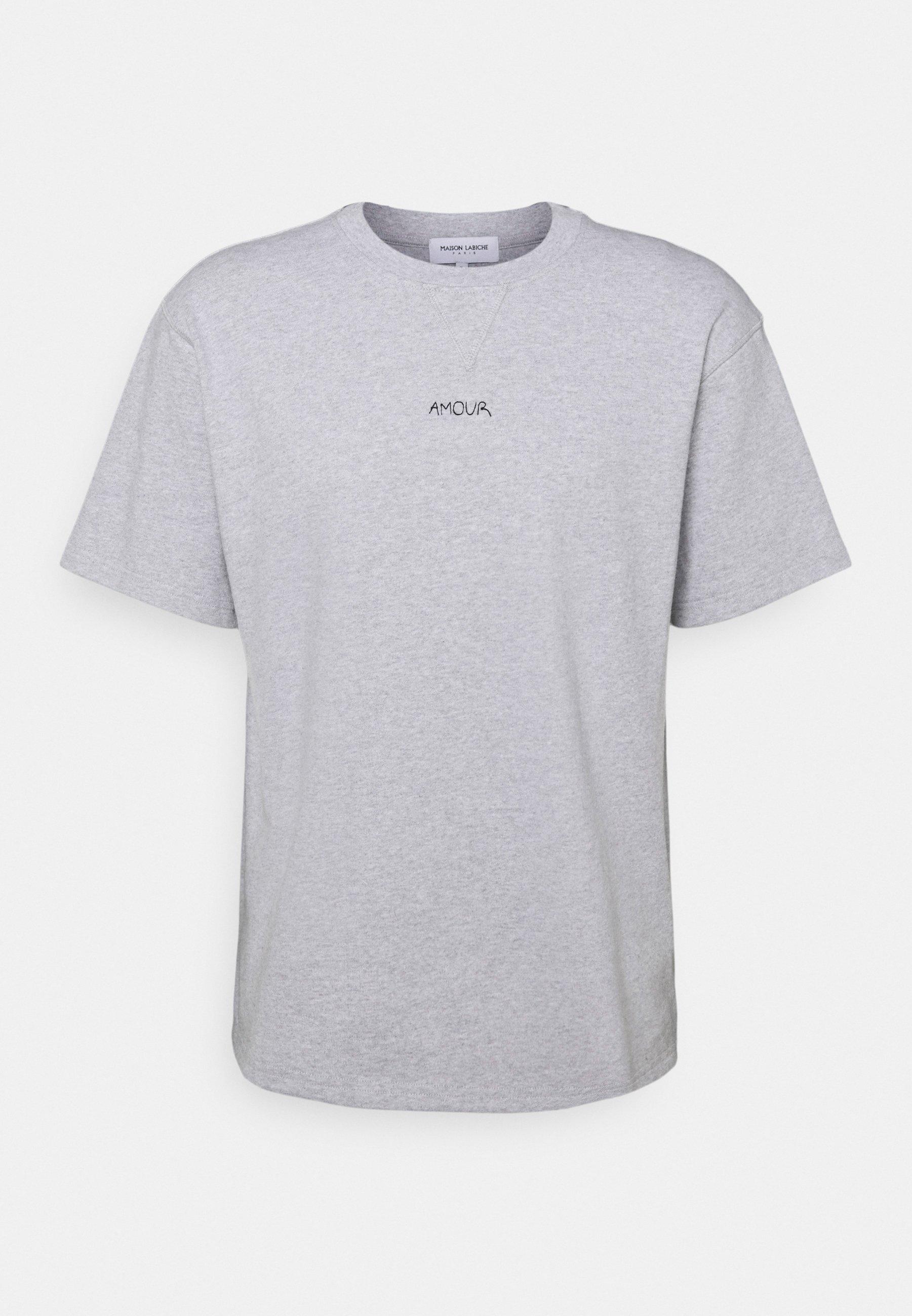 Homme BOXY TEE SS AMOUR/GOTS - T-shirt imprimé