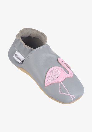 Baby shoes - grey/ pink