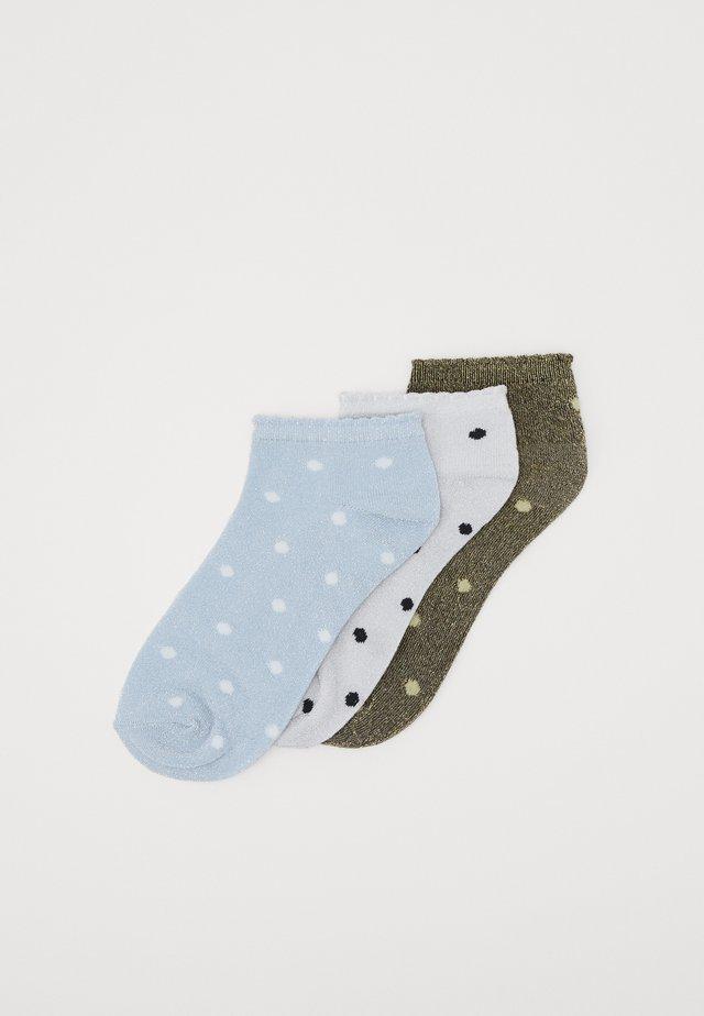 VMDOT SNEAKER SOCKS 3 PACK - Socks - cashmere blue