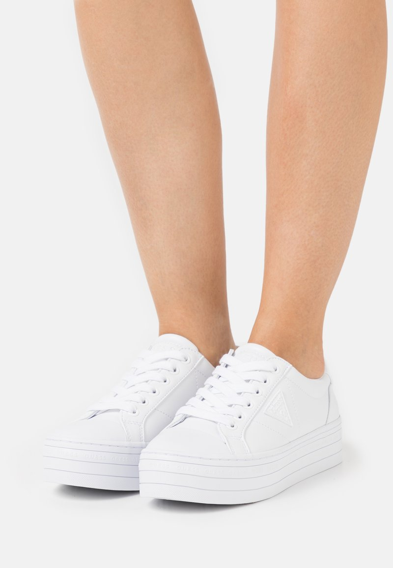 Guess - BRODEY - Sneakers basse - white