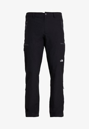 EXPLORATION - Pantalons outdoor - black