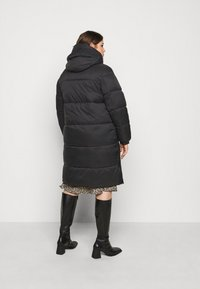 Vero Moda Curve - VMUPSALA LONG JACKET  - Winter coat - black - 2
