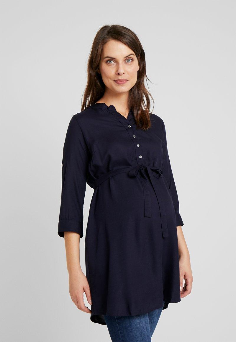MAMALICIOUS - MLMERCY - Bluzka - navy blazer