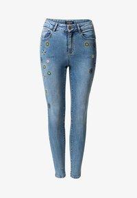 Desigual - Jean slim - blue - 4