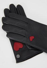 Roeckl - HEARTS - Rukavice - black - 3