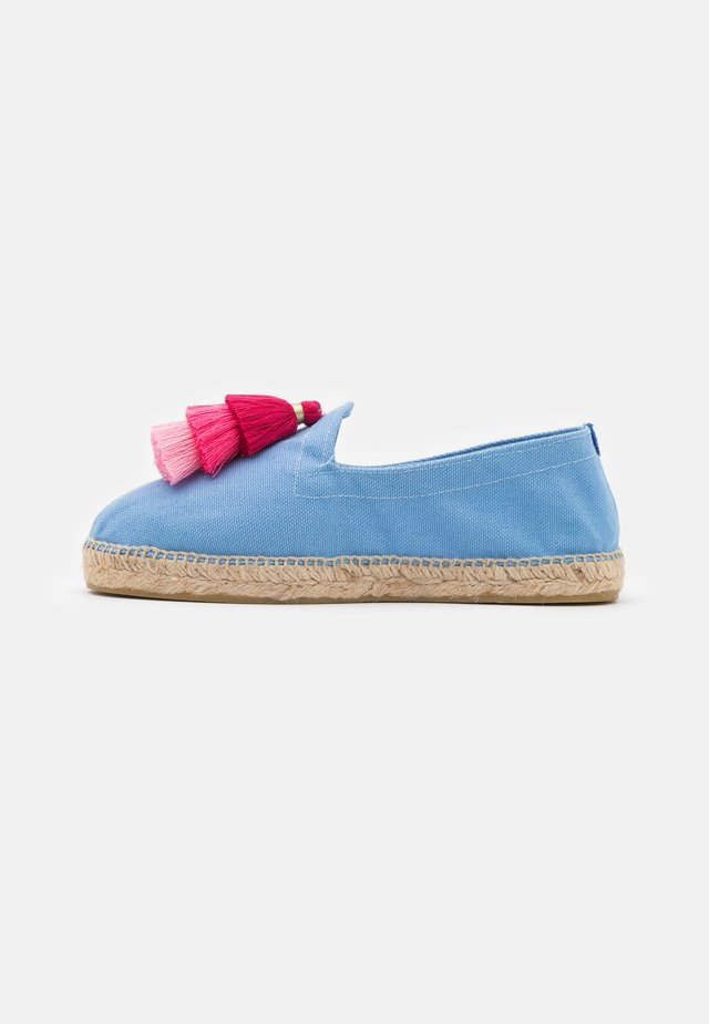 POMPOM - Espadrillas - light blue/grey