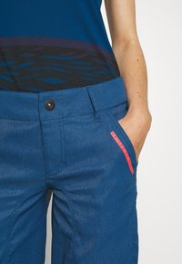 ION - BIKESHORTS SEEK - Pantalon 3/4 de sport - ocean blue - 4