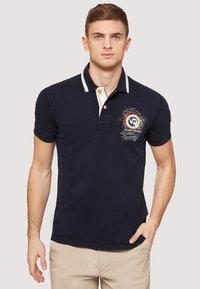 Napapijri - GANDY - Polo shirt - dark blue - 0