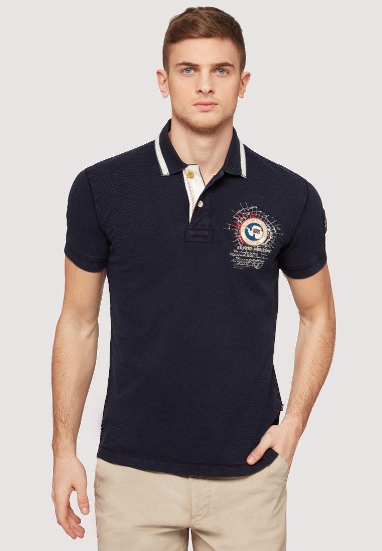 Napapijri - GANDY - Polo shirt - dark blue