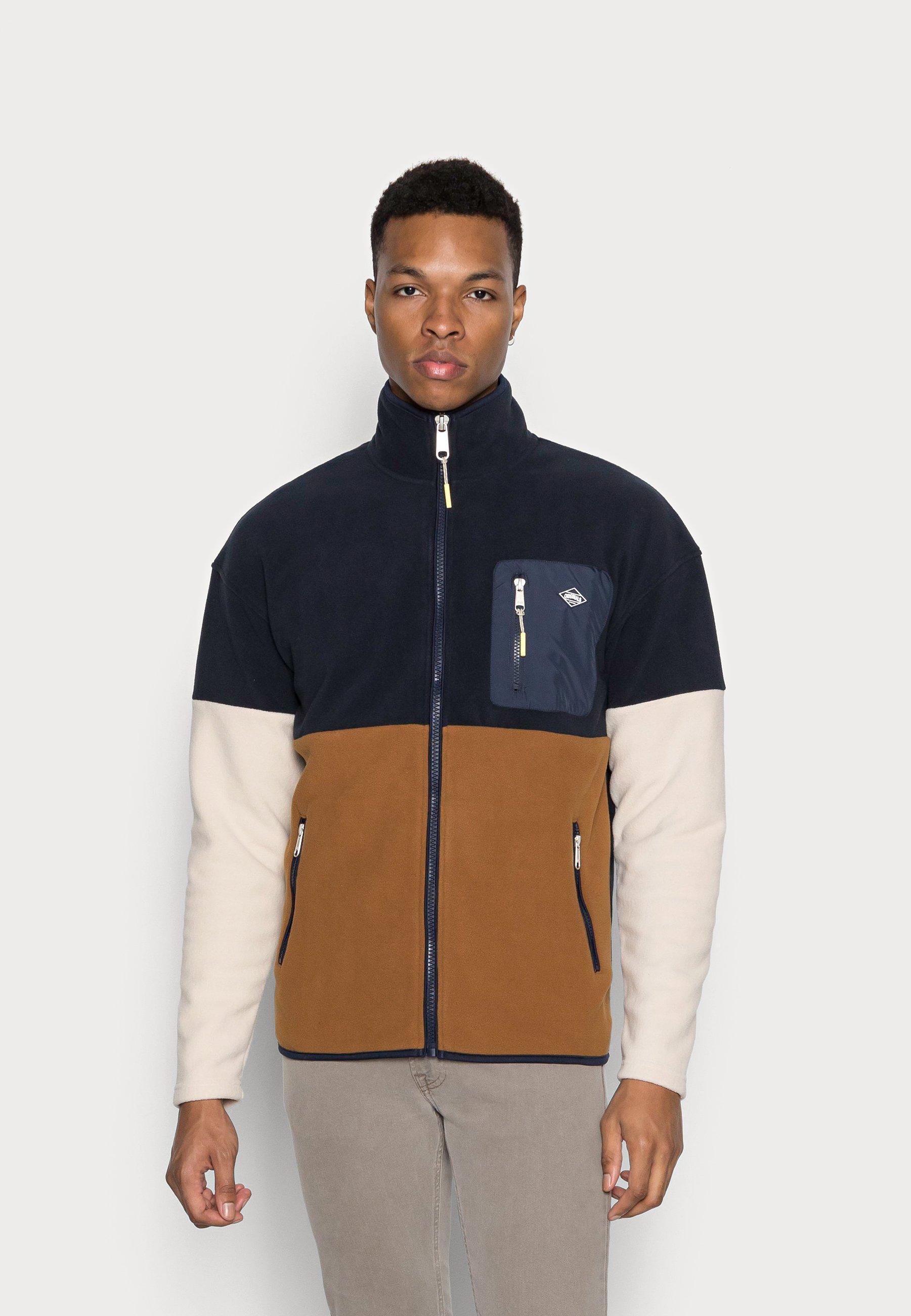Men JORYOUNG ZIP HIGH NECK - Fleece jacket