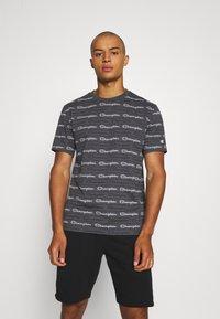 Champion - CREWNECK - T-shirt con stampa - grey - 0