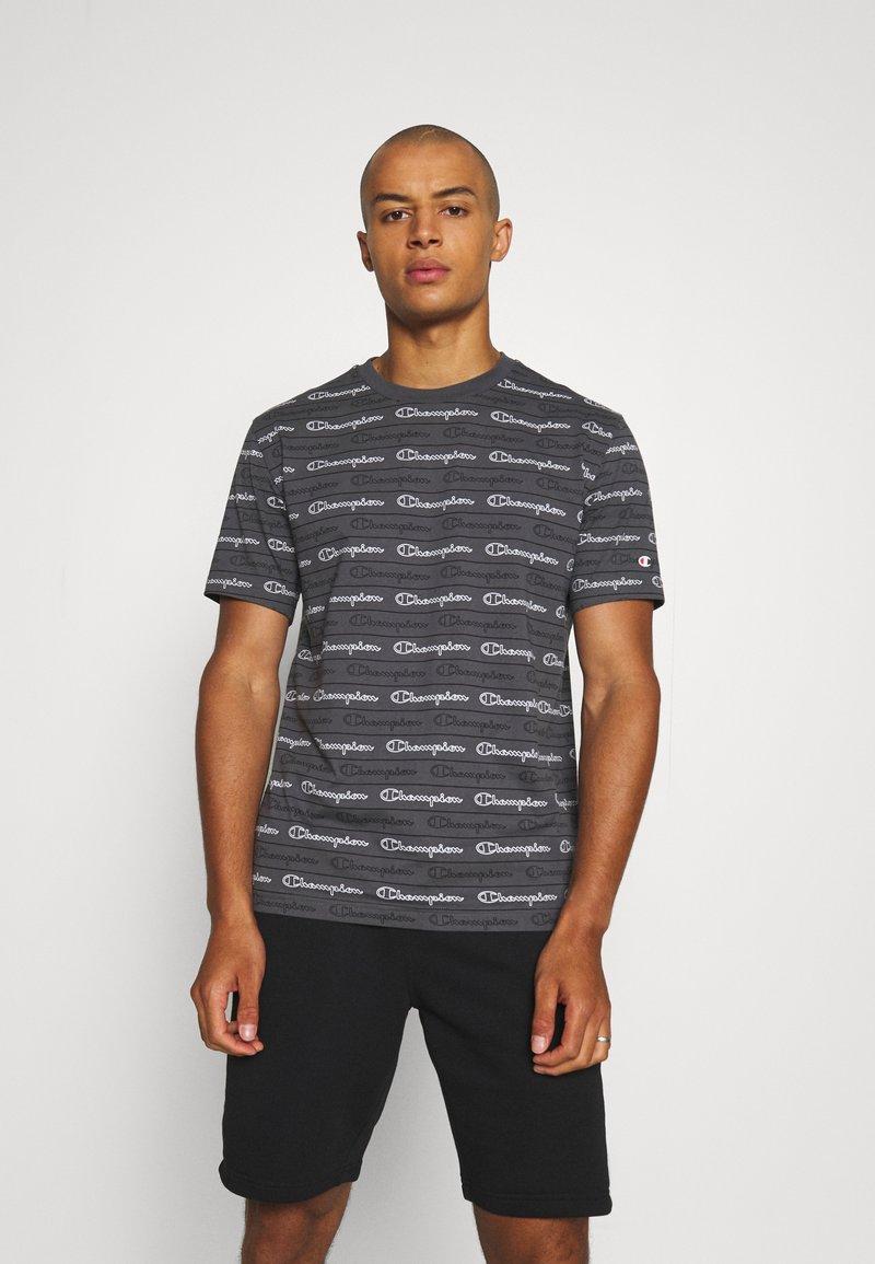 Champion - CREWNECK - T-shirt con stampa - grey
