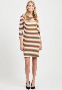 Vila - VITINNY - Day dress - toffee - 1