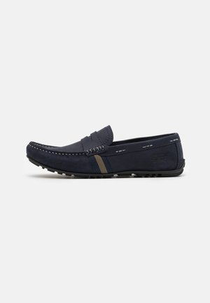 MOSS - Moccasins - navy/brown